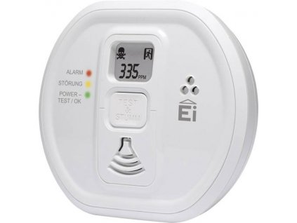 Detektor oxidu uhelnatého Ei Electronics Ei208iDW, vč. baterie s životností 10 let