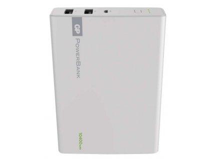 Power bank GP 1C10A 10400mAh bílý