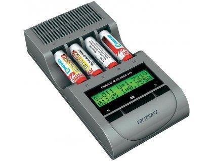 Nabíječka tužkových akumulátorů Voltcraft Charge Manager 410