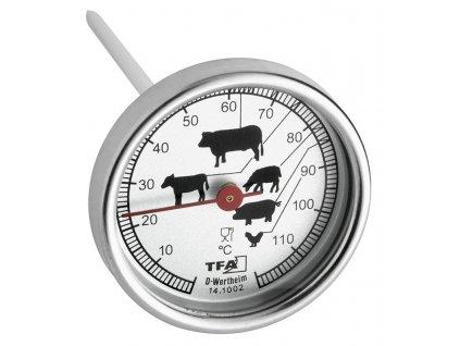 Vpichovací bimetalový teploměr na maso TFA 14.1002.60.90