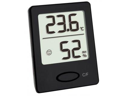 Digitální teplo-vlhkoměr TFA 30.5041.01, černý