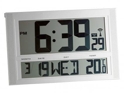 Velké nástěnné hodiny DCF - TFA 98.1090 - 420x270x45 mm