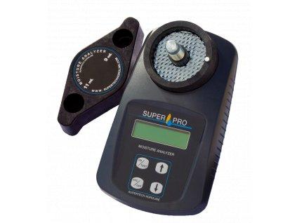 Vlhkoměr obilí SuperPRO s drtičem, pro měření vlhkosti obilovin, olejnin a semen trav