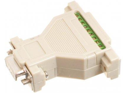 Adaptér pro snadné připojení signálů pro loggery S3541,S50x1,S60x1