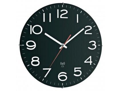 Nástěnné hodiny DCF TFA 60.3509, průměr 31 cm