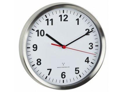 Nástěnné hodiny řízené DCF signálem TFA 60.3529.02; Ø 220 mm
