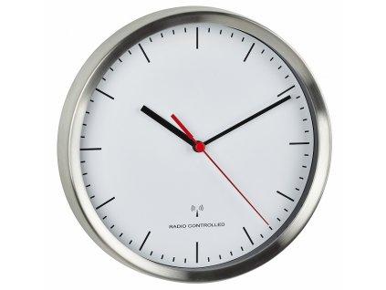 Nástěnné hodiny řízené DCF signálem TFA 60.3530.02; Ø 220 mm
