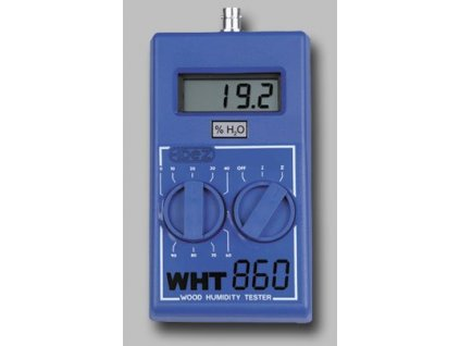 WHT-860 | Vlhkoměr pro měření vlhkosti dřeva a zdiva včetně lehké hrotové elektrody a pouzdra