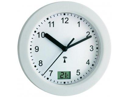 Koupelnové hodiny s teploměrem TFA 60.3501
