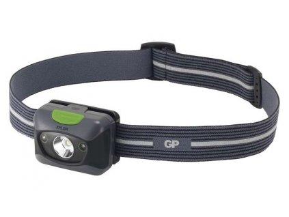 Čelovka GP PH14 na 3x AAA, 1x LED 3W + 2x rudá LED |P8560