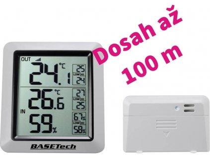 Digitální teplo-vlhkoměr Basetech
