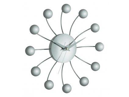Luxusní nástěnné hodiny SPIDER TFA 60.3010, průměr 285 mm