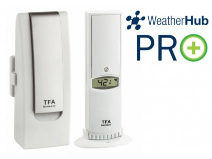 Bezdrátový monitor klimatu TFA 31.4012.02 WEATHERHUB - startovací sada