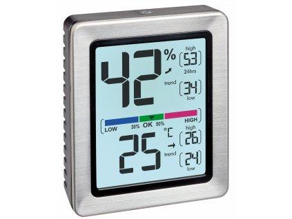 Digitální teplo - vlhkoměr EXACTO TFA 30.5047.54