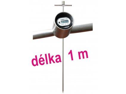 Zemědělský digitální tyčový teploměr - 1000 mm