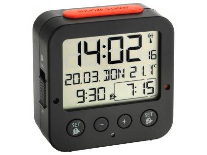 DCF digitální budík BINGO s teploměrem - TFA 60.2528.01