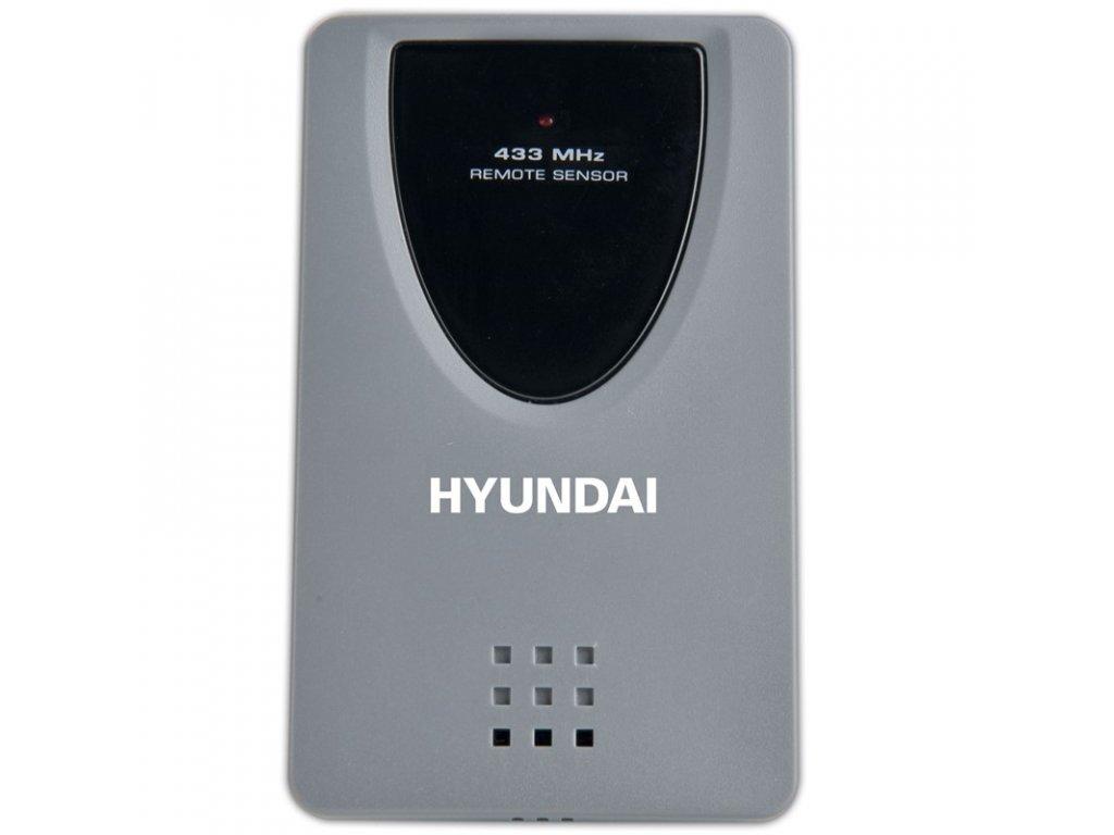Bezdrôtové čidlo pre meteostanice Hyundai WS Senzor 77 sivé