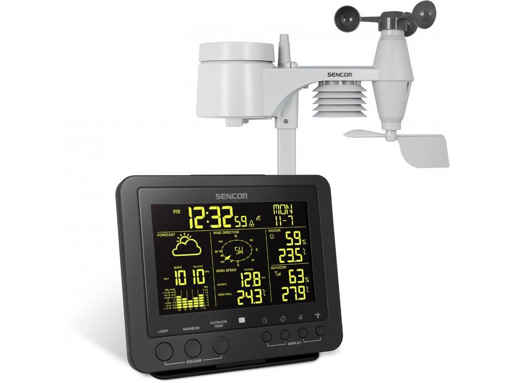 Profesionálna meteorologická stanica Sencor SWS 9700