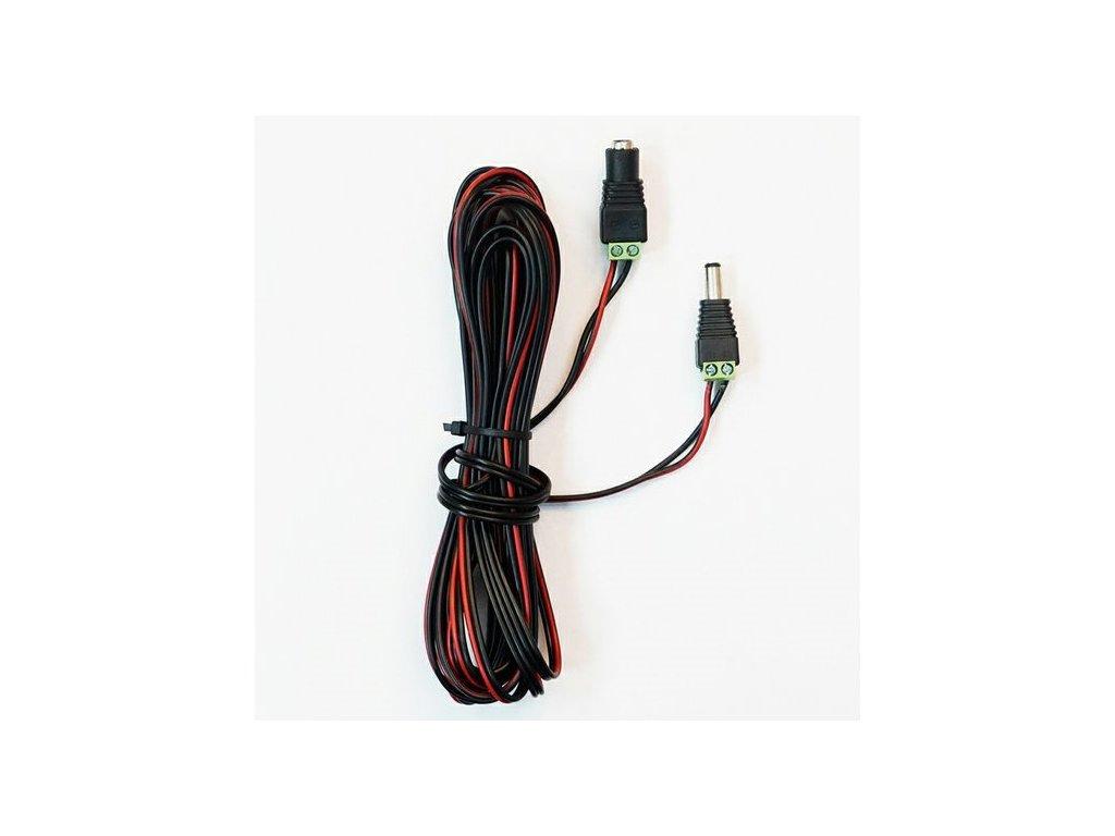 Predl. napájací kábel 5 m pre zdrojové odpudzovače Deramax