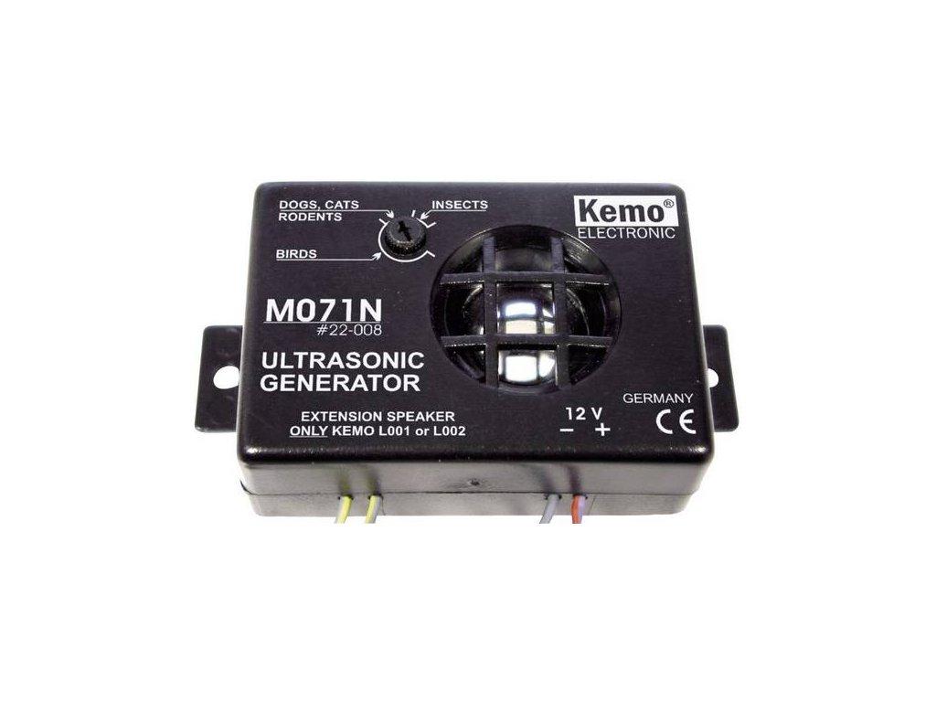 Odpudzovac KEMO M071N 8 az 40 kHz