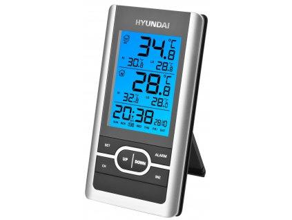 Meteorologická stanica Hyundai WS 1070 čierna/strieborná