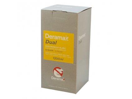 Deramax®-Dual – Elektronický plašič (odpudzovač) krtkov a hlodavcov.