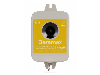 Deramax-Klasik Ultrazvukový odpudzovač-plašič kún a hlodavcov
