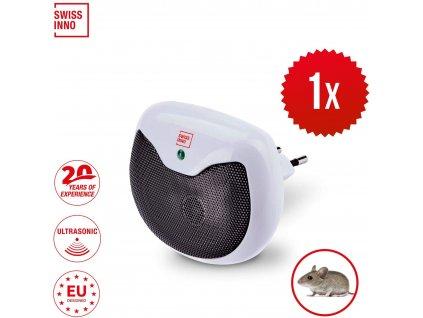 Mini ultrazvukovy odpudzovac hlodavcov SWISSINNO 15m2 6