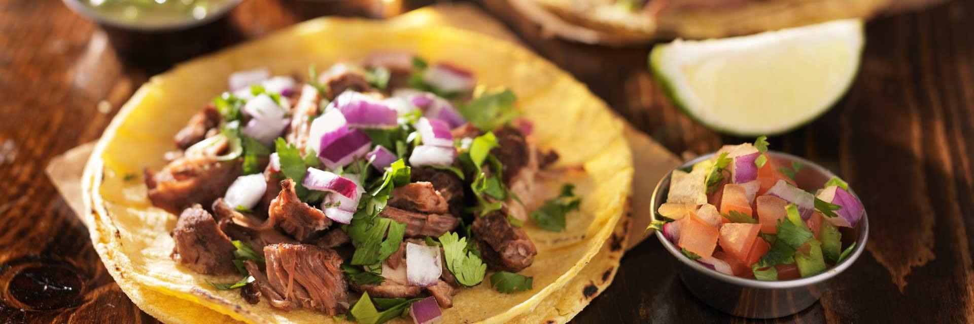 Pravé mexické Tacos