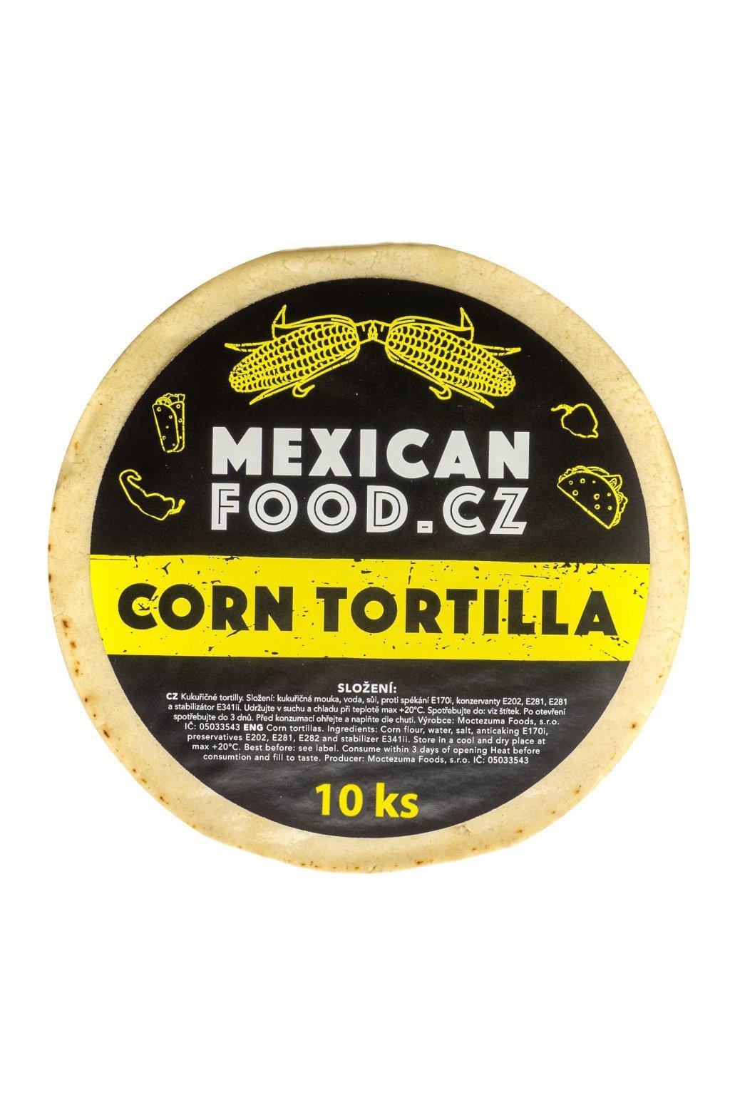 Tortilla kukuřičná 12ks