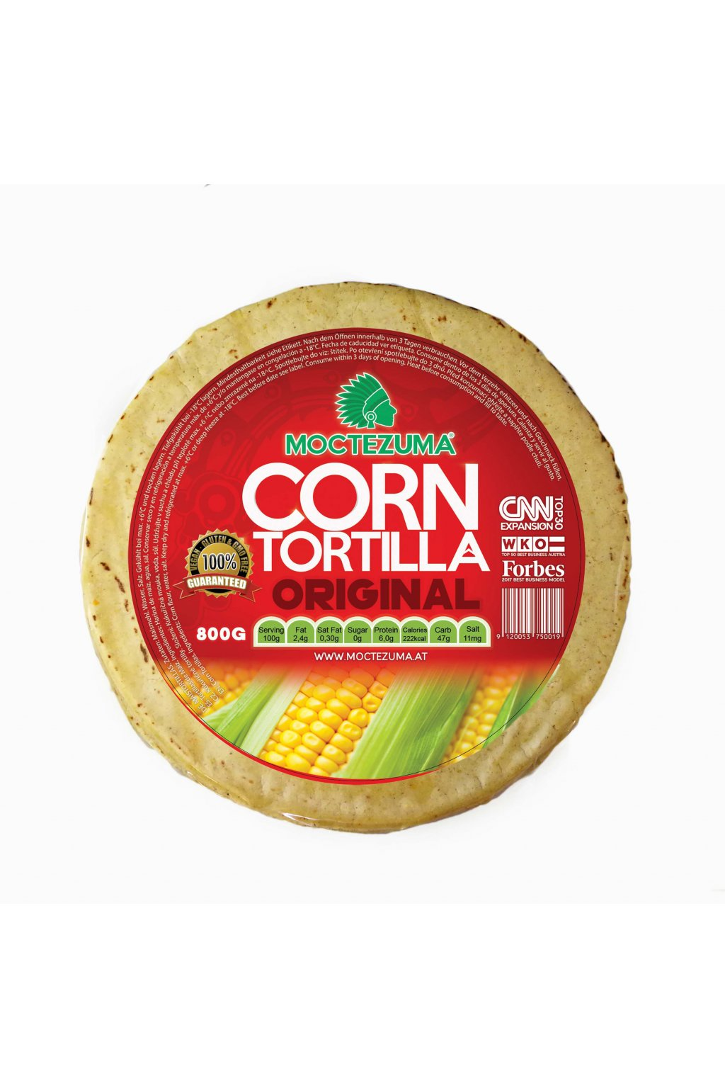tortillas corn