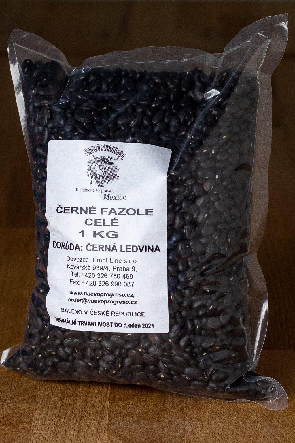 Fazole černé suché 1kg