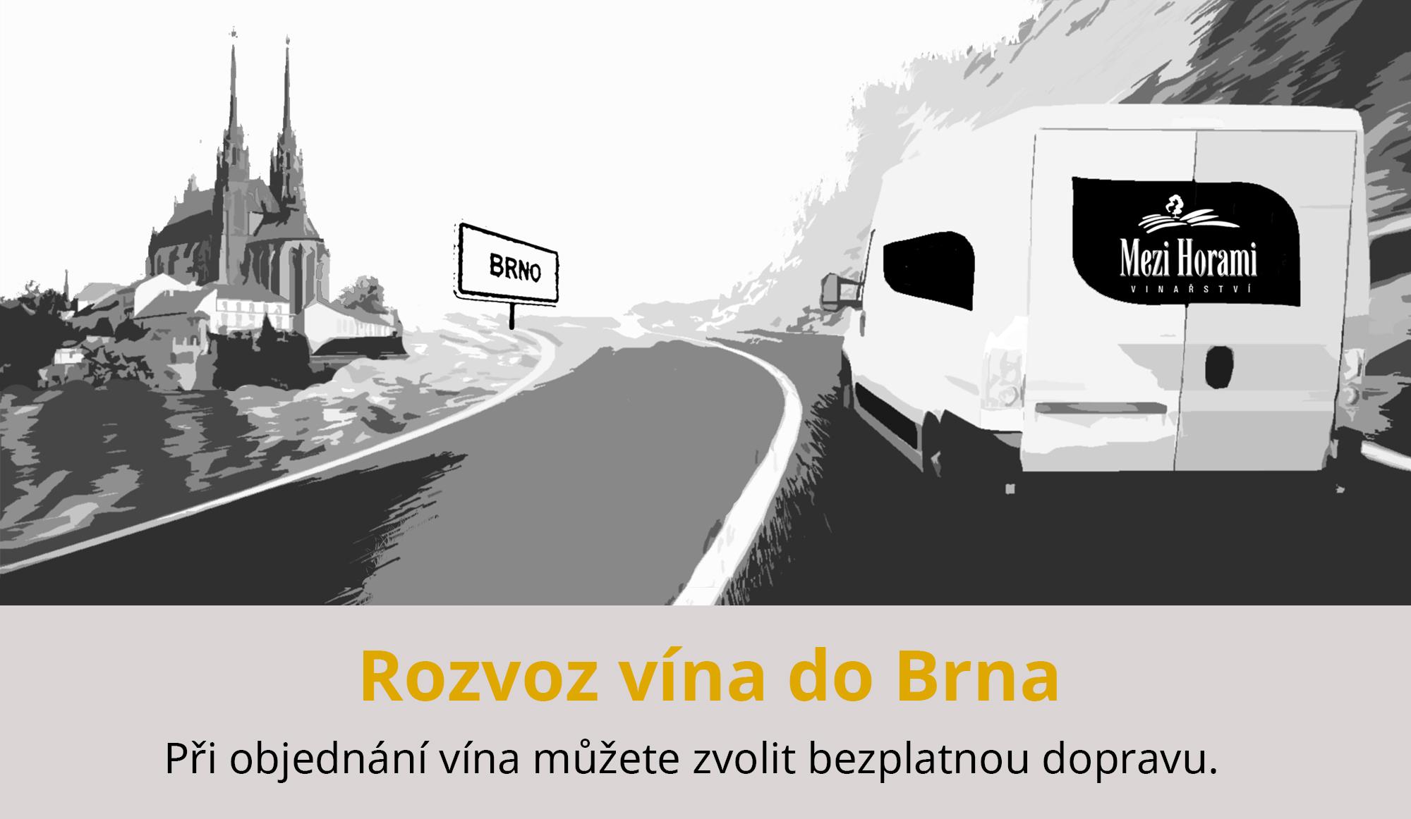 Rozvoz Brno