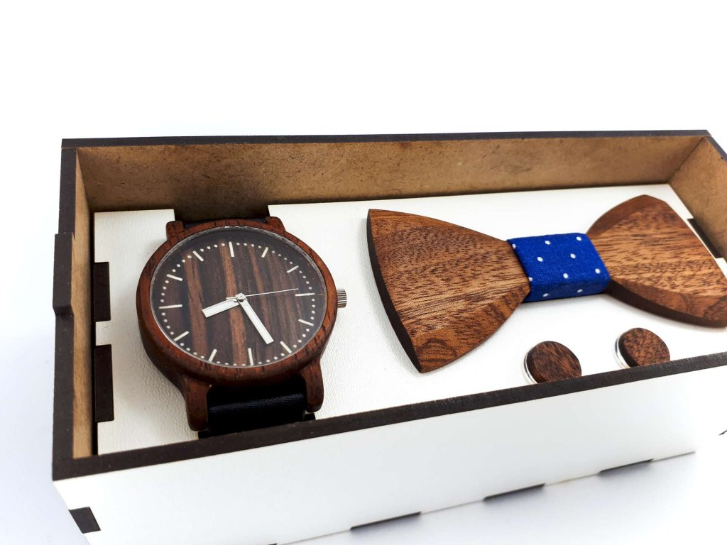 Dřevěný set