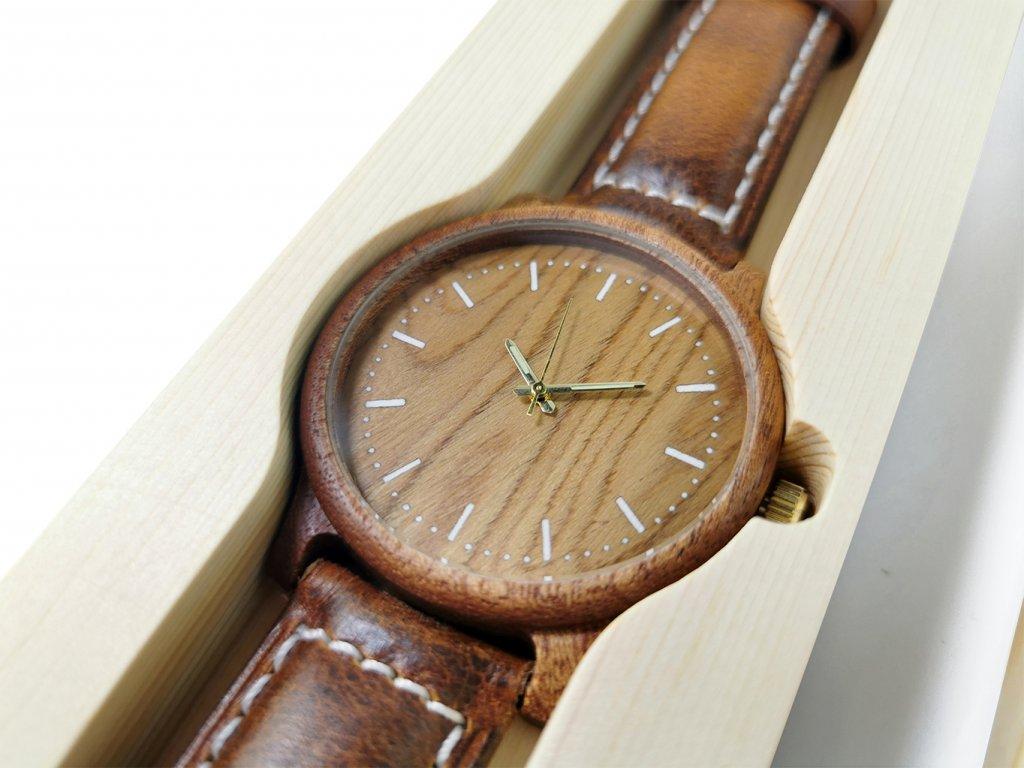 Dřevěné hodinky VIKI