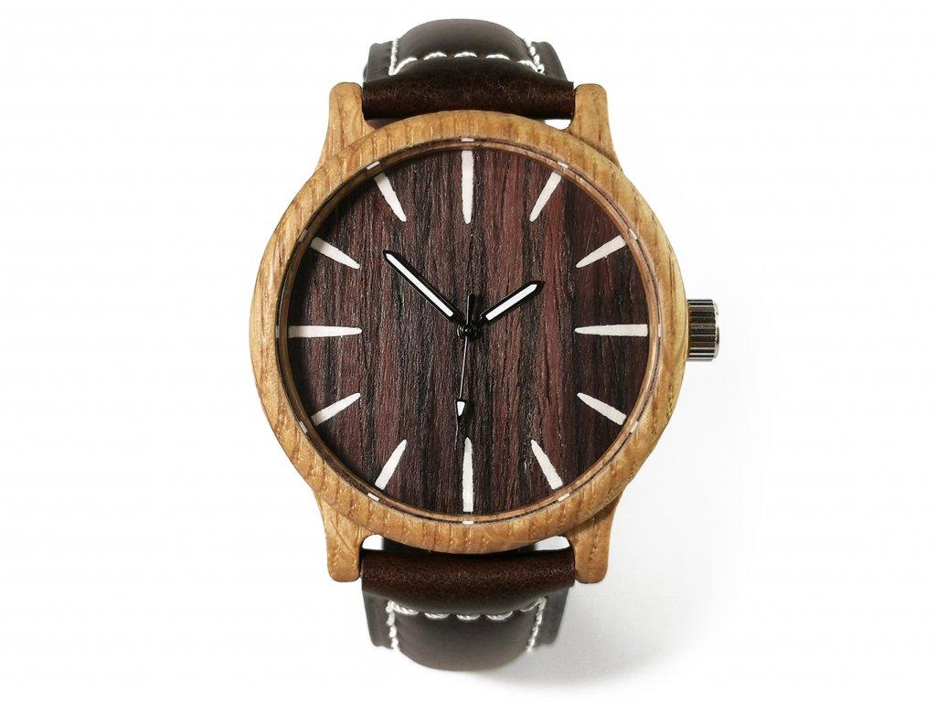 Dřevěné hodinky LUKY