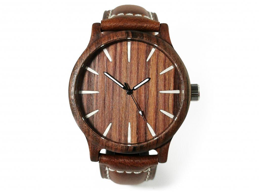 Dřevěné hodinky SEBASTIAN