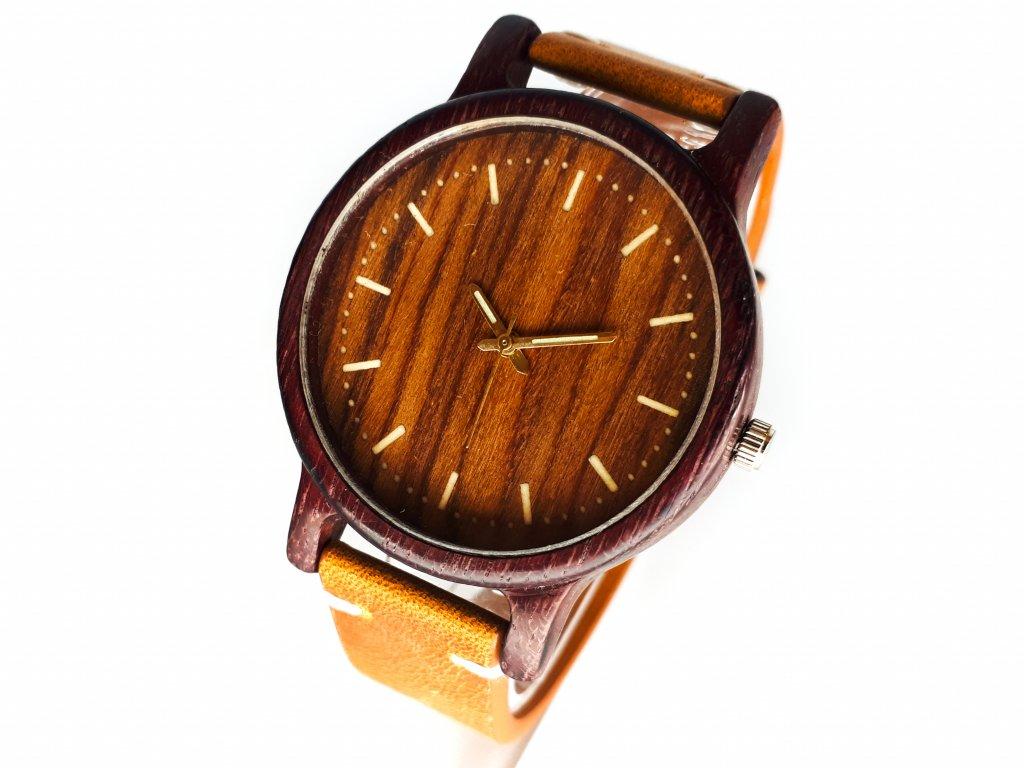 Dřevěné hodinky ANDY