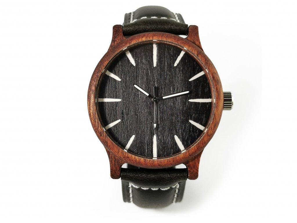 Dřevěné hodinky PETR