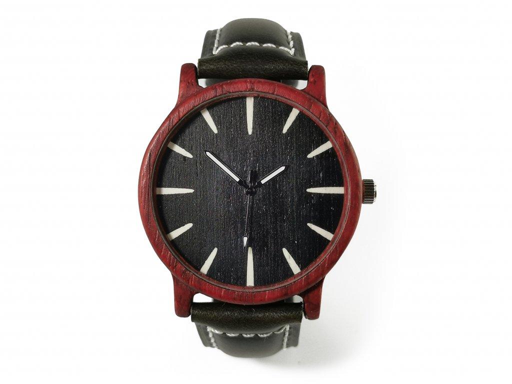 Dřevěné hodinky Christian & Satine