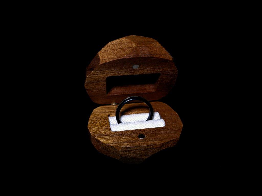 Dřevěná krabička Diamant