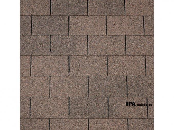 IKO Armourglass PLUS asfaltový šindel 07 - Podvojně hnědá