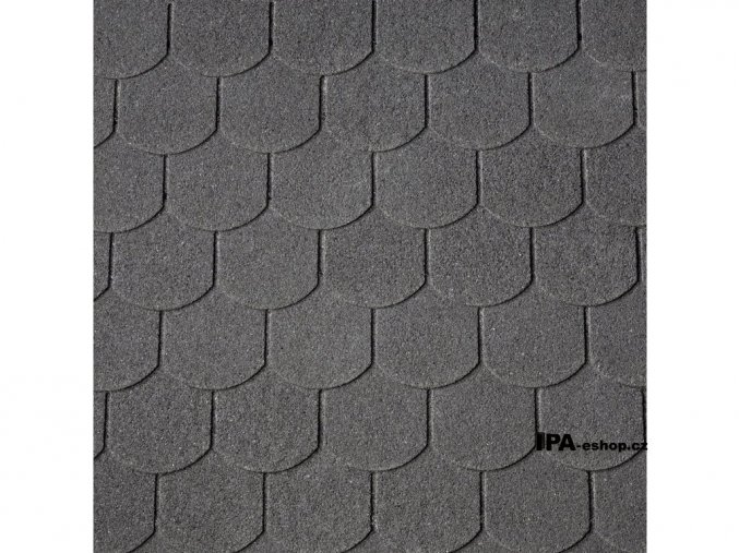 IKO Victorian PLUS asfaltový šindel 01 - Černá