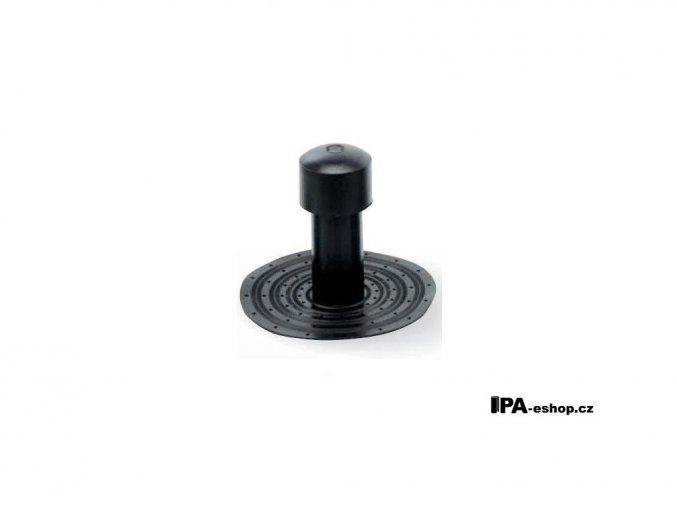 Odvětrávací komínek z TPE, d75mm, h270 mm