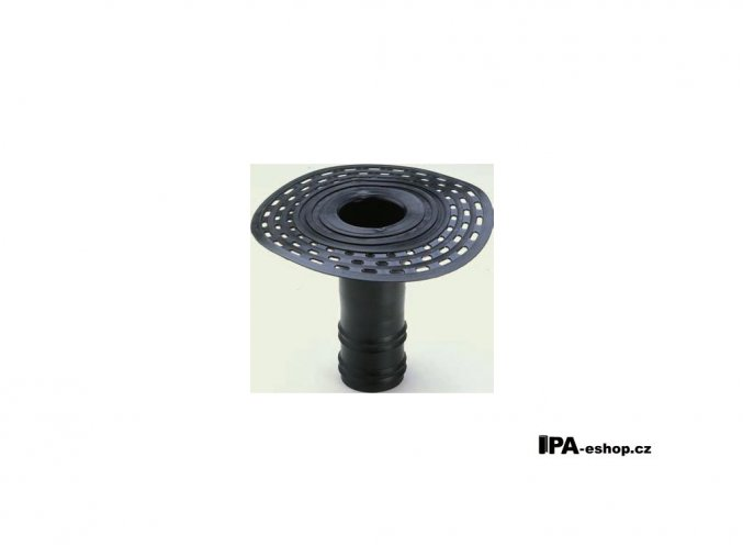 Střešní vpusť z TPE, d110mm, h250 mm