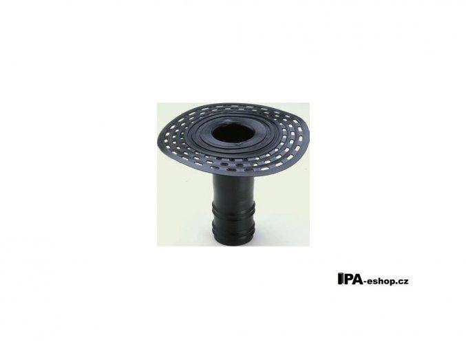 Střešní vpusť z TPE, d90mm, h250 mm