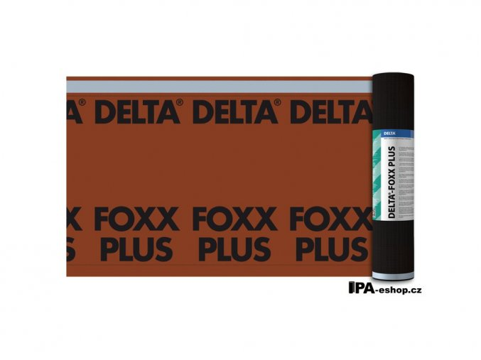 DELTA FOX PLUS 1,5x50m (75m2/bal.)
