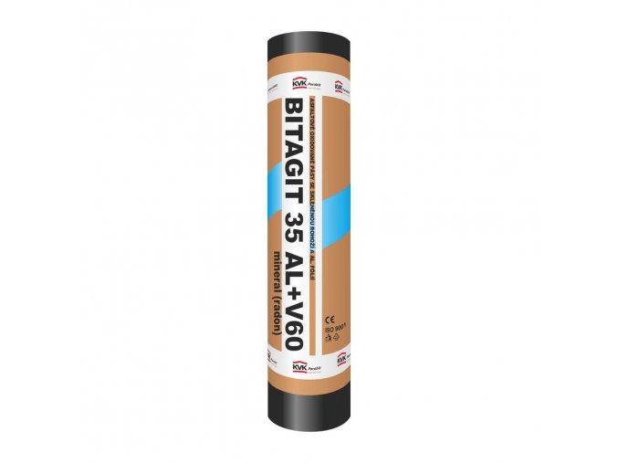 Asfaltový pás - Bitagit 35 Al+V60 mineral