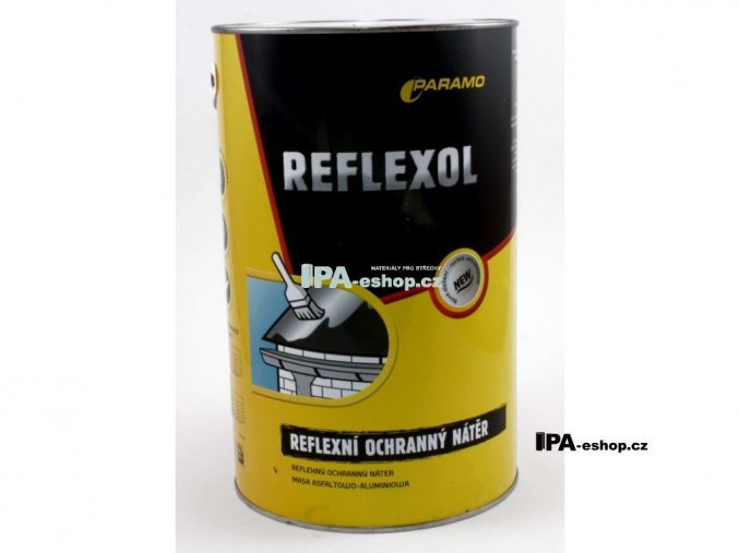 REFLEXOL, Asfaltový penetrační lak, 3,8 kg, plechovka, ko