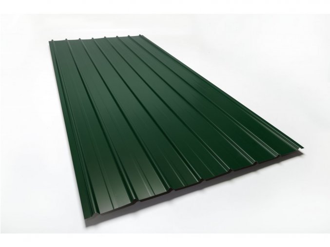 trapez plech zelena